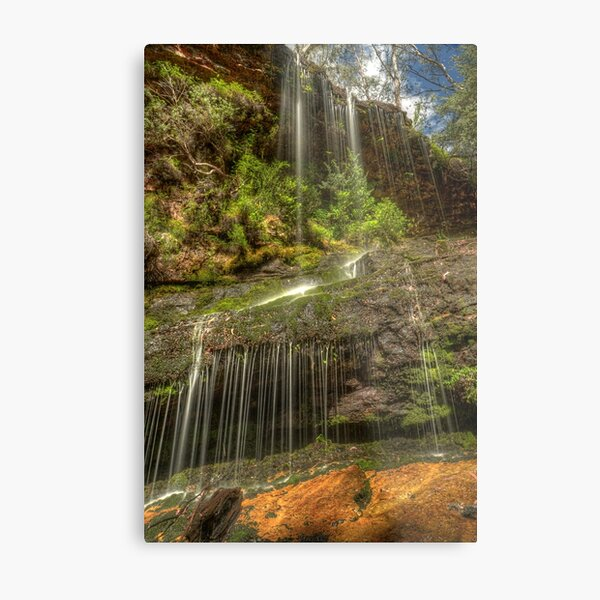 Hidden high country falls Metal Print