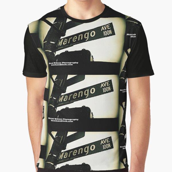 Marengo Avenue, Pasadena, California by Mistah Wilson Graphic T-Shirt