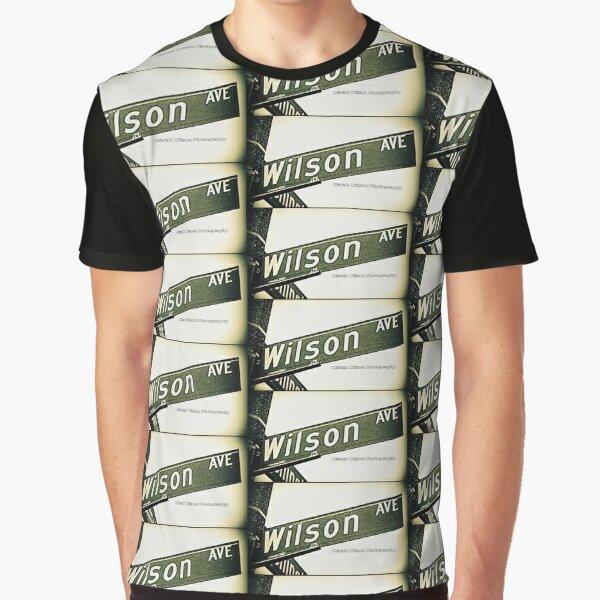 Wilson Avenue, Pasadena, California by Mistah Wilson Graphic T-Shirt