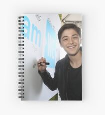 Asher Angel Spiral Notebook
