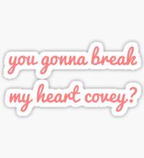 An alle Jungs, die ich schon einmal geliebt habe Sticker