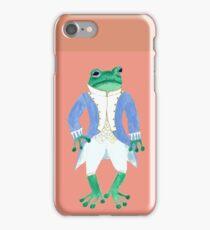 Frog Footman  iPhone Case/Skin