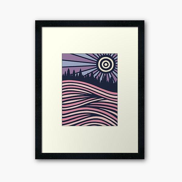 SUMMER N/GHTS Framed Art Print