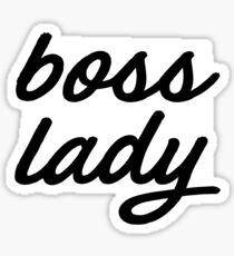 Boss Lady , Gift for Boss Sticker