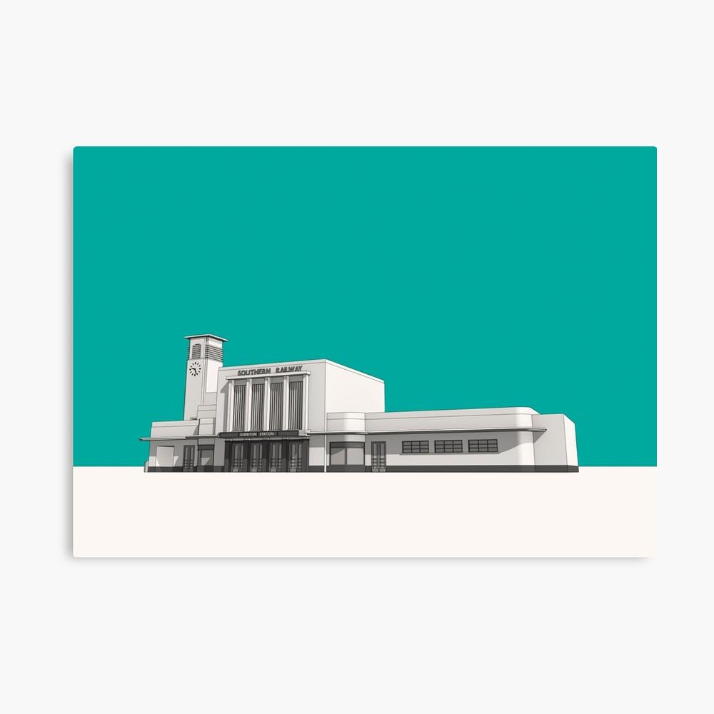 Surbiton Station Canvas Print