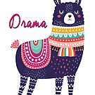 Drama Llama by scooterbaby