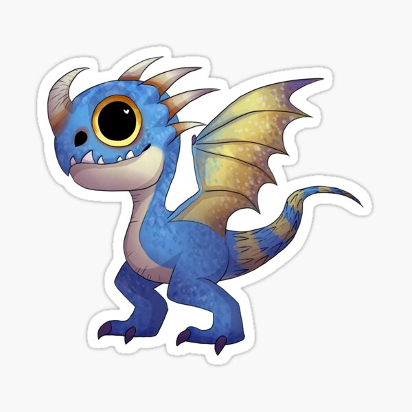 Stormfly the Deadly Nadder Sticker