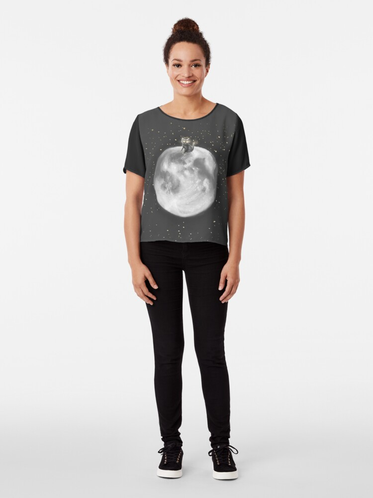 Alternate view of Lost in a Space / Moonelsh Chiffon Top