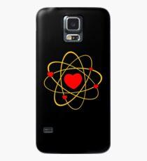 Atoms heart love positive energy Case/Skin for Samsung Galaxy
