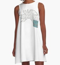JAGO WEAPONEER BLAST By: Roberto Enamorado aka Robertoinlove  A-Line Dress