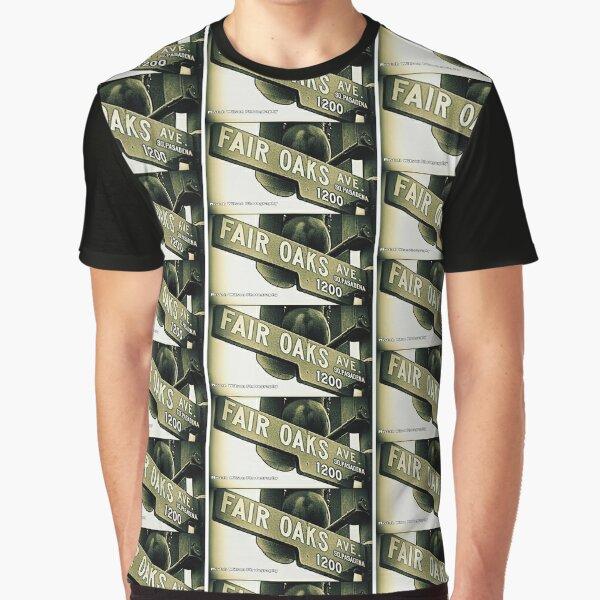 Fair Oaks Avenue, South Pasadena, California by Mistah Wilson Graphic T-Shirt