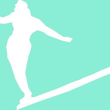 Chica surfista de Caretta
