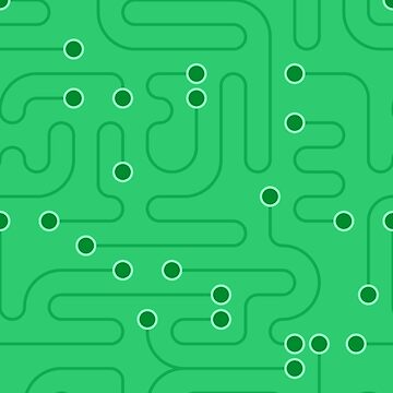 Green Circuitry by DigitalShards