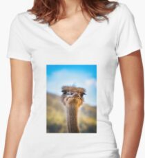 face-2-face Fitted V-Neck T-Shirt