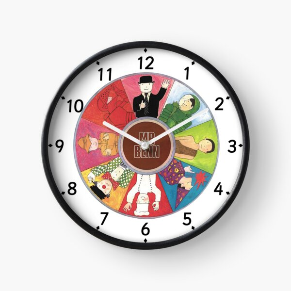 Mr Benn in Different Clothing Clock Clock