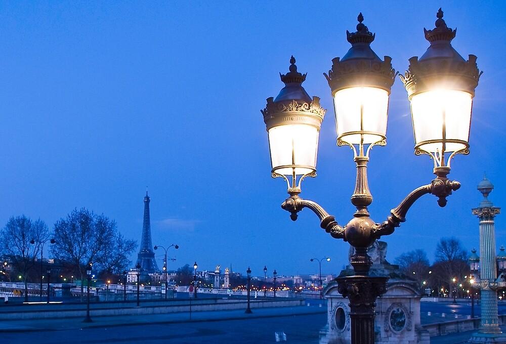 Paris Winter by Garry Roberts