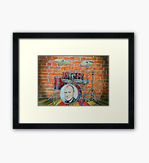 Phil Collins Fan Art Framed Print
