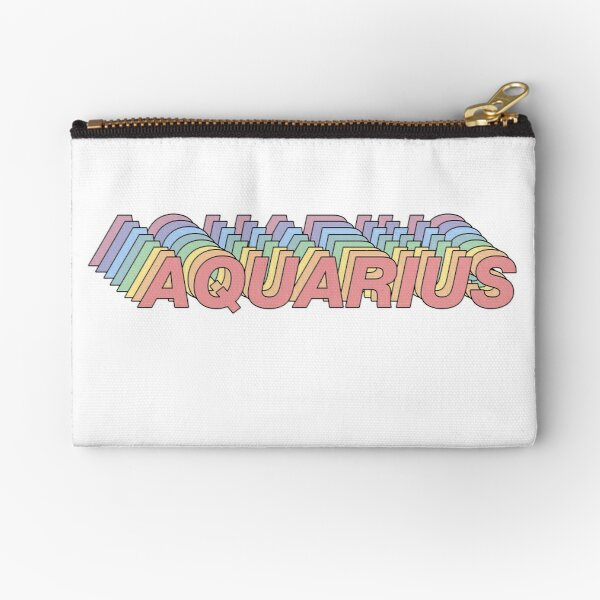 AQUARIUS Zipper Pouch