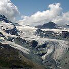 Along the Gornergrat Glacier, Zermatt, Switzerland by Monica Engeler