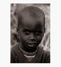 Masai III Photographic Print