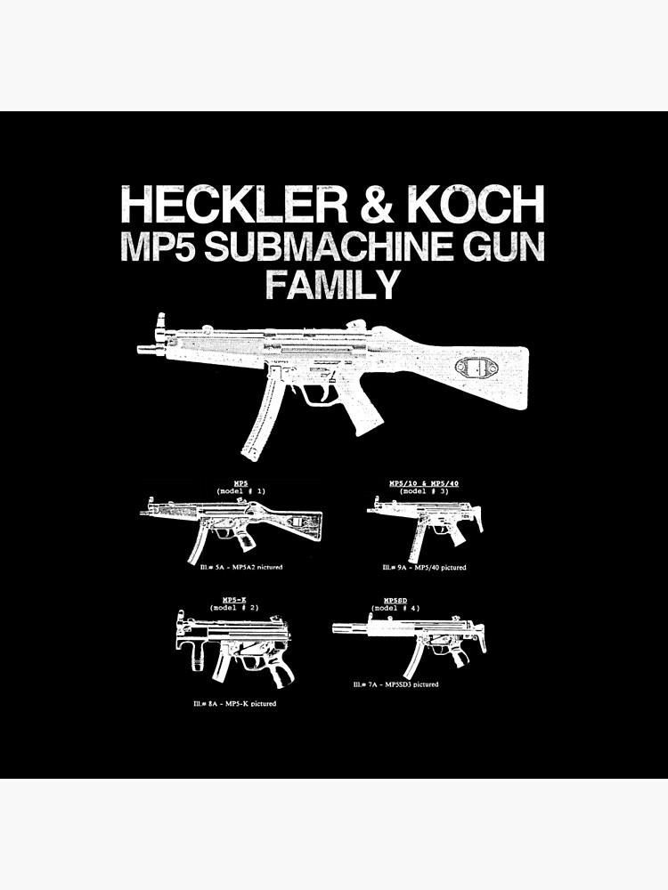 MP5 SUBMACHINE GUN FAMILY by hvrvmi