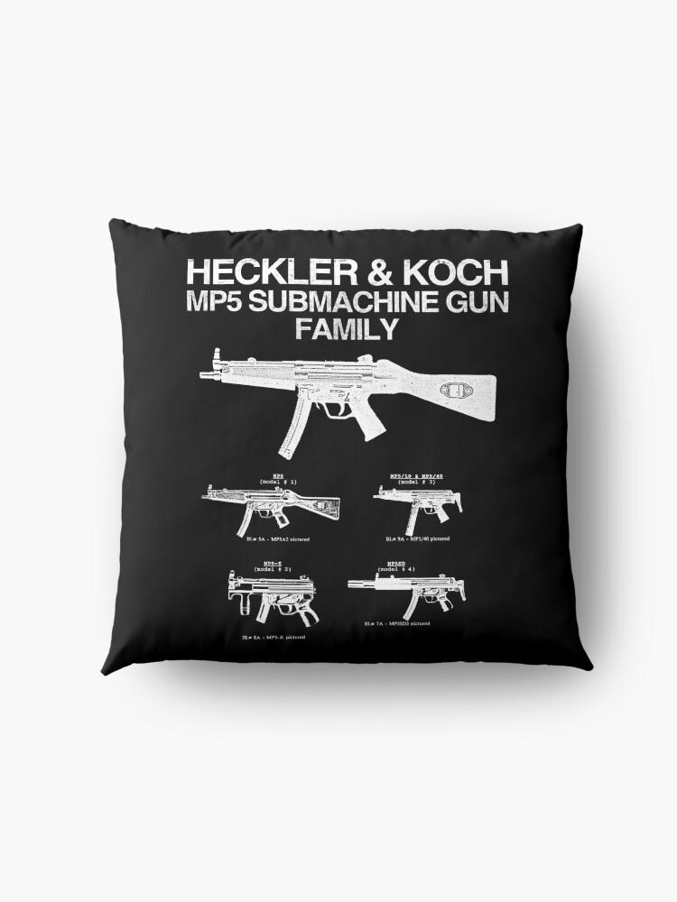 Alternate view of MP5 SUBMACHINE GUN FAMILY Floor Pillow