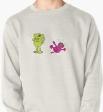 Roobarb and Custard, dog and cat from children's TV 1970's Pullover