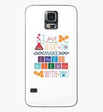 Make Crazy Science - Orphan Black Case/Skin for Samsung Galaxy