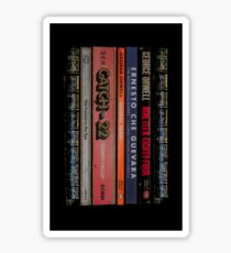 1984-The Motorcycle Diaries-Animal Farm-Catch 22 - iPhone Case Sticker