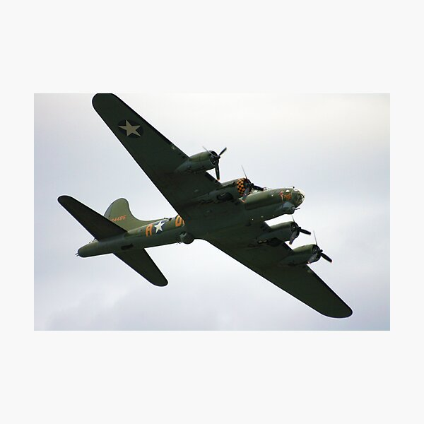 Sally B Flies Again! Photographic Print