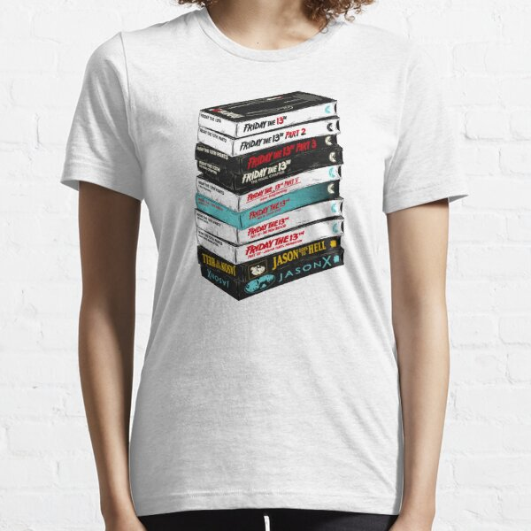 Friday the 13th VHS stack Essential T-Shirt