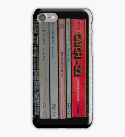 Catch 22-Catcher in The Rye-Steppenwolf..... iPhone Case iPhone Case/Skin