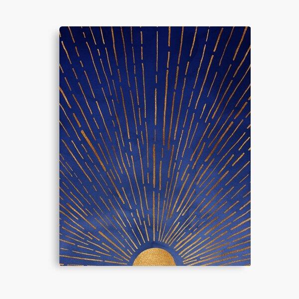 Indigo Sunset Canvas Print