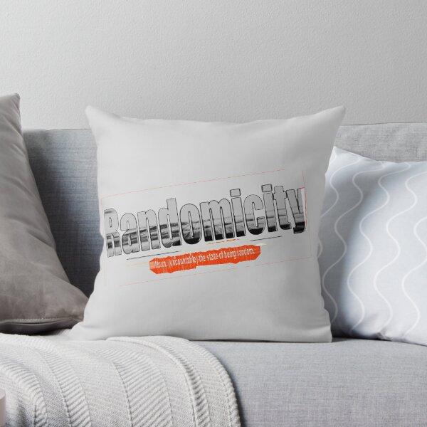 Randomicity Throw Pillow