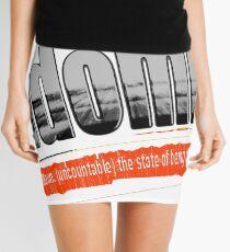 Randomicity Mini Skirt