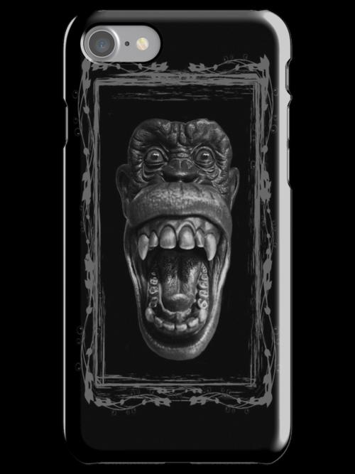 Monkey Me - iPhone-iPod Cover by Bryan Freeman