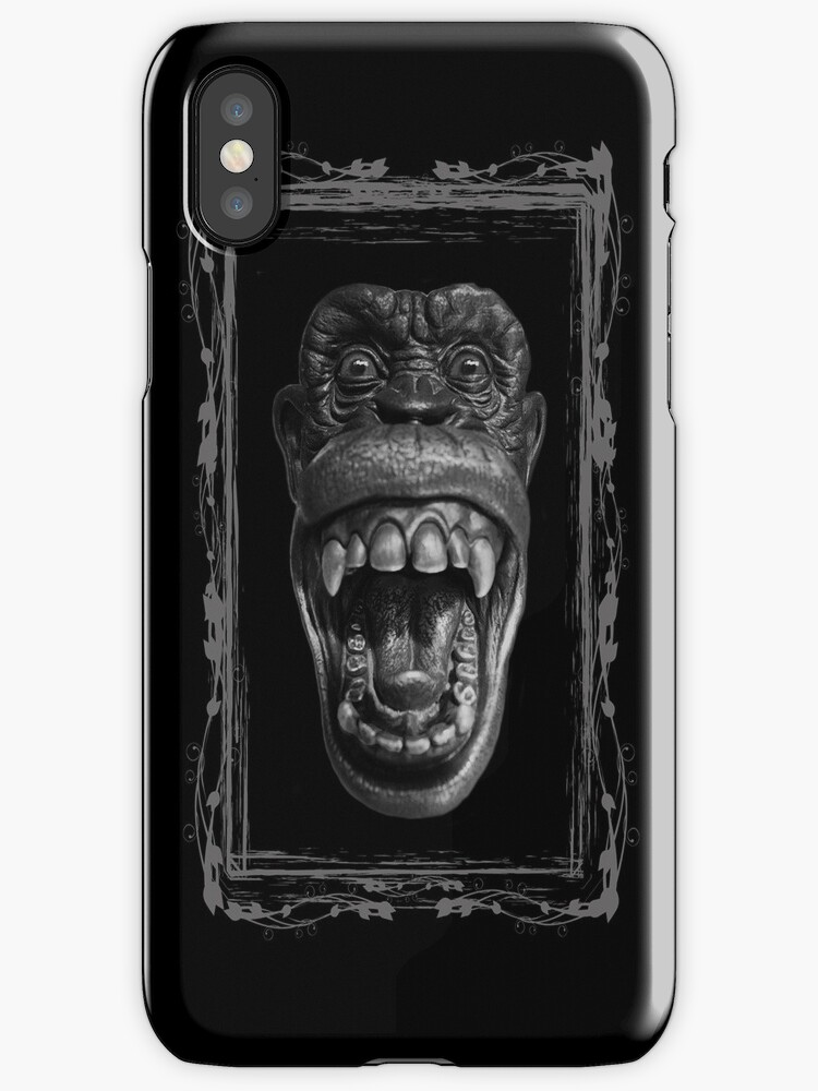 Monkey Me - iPhone-iPod Cover by Bryan Freeman
