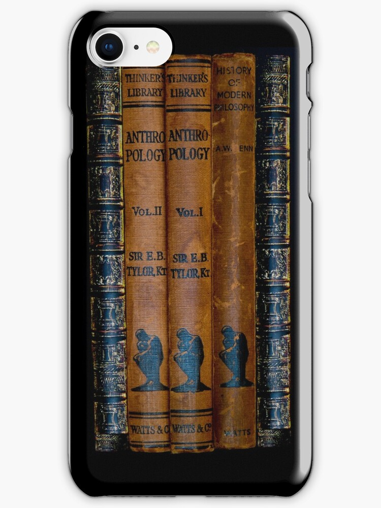 The Thinker's Library - iPhone Case by Bryan Freeman