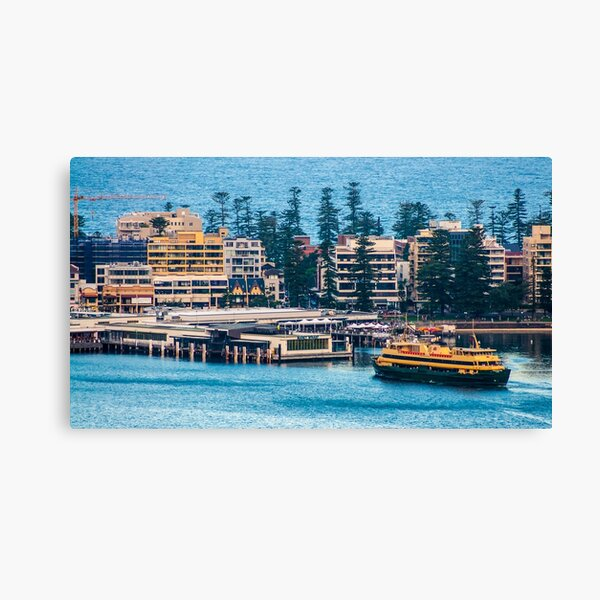 Manly Wharf, North Harbour, Sydney Canvas Print