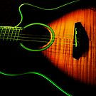 Green Guitar by Ray4cam