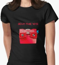 VIEWMASTER - 3D IN THE 70's Women's Fitted T-Shirt