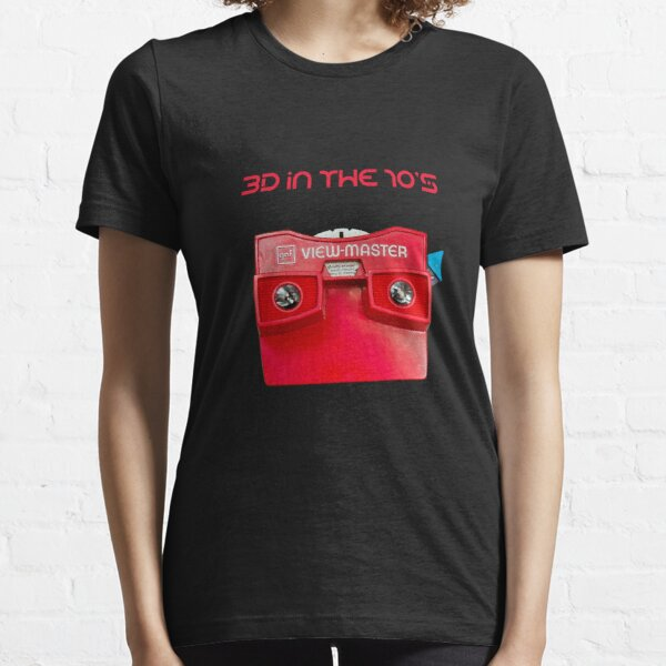 VIEWMASTER - 3D IN THE 70's Essential T-Shirt