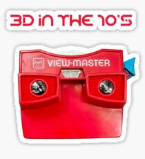VIEWMASTER - 3D IN THE 70's Sticker