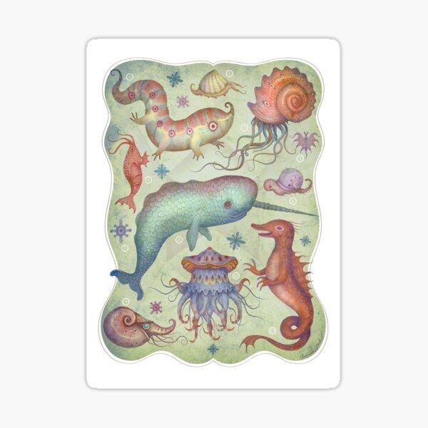 Creature of the Deep Sea Sticker