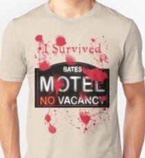 Bates Motel - I Survived! - T-shirt Unisex T-Shirt