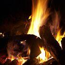 fireside II by Tamara Bobst