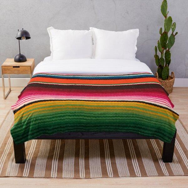 BEAUTIFUL MEXICAN SERAPE Throw Blanket