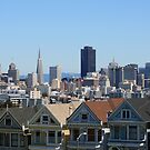 The Painted Ladies/San Francisco by CherylBee