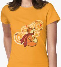 Autumn Fox Women's Fitted T-Shirt