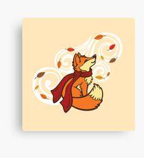Autumn Fox Canvas Print